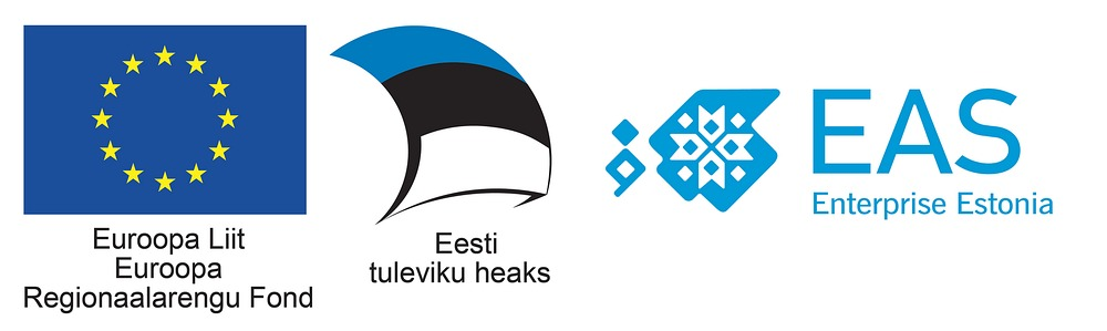 Euroopa Regionaalarengu Fondi logo koos EASi logoga